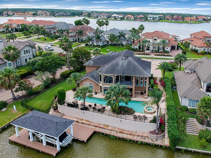 aerial photography for Jacksonville, FL waterfront property