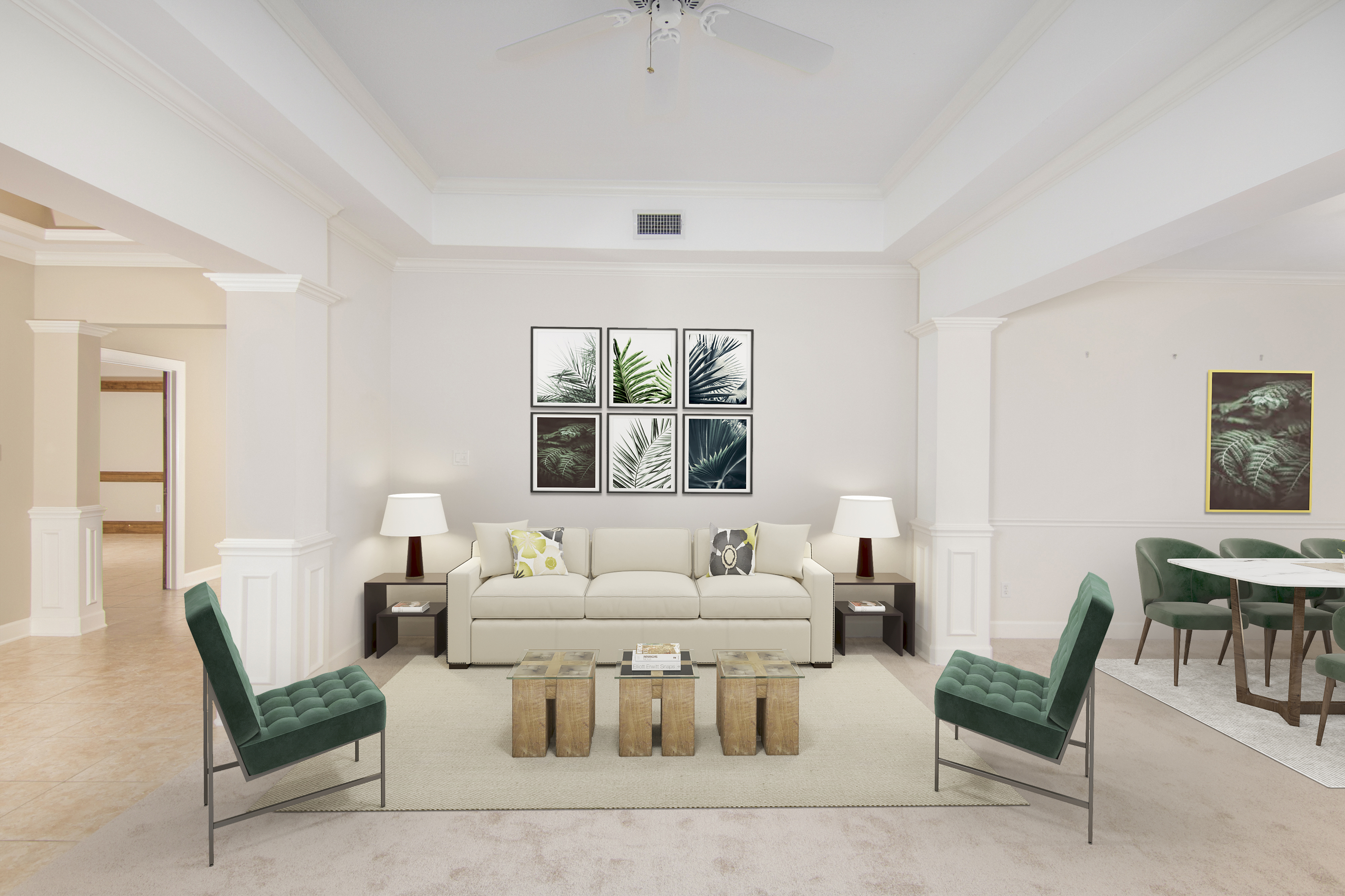 virtual staging photography for Jacksonville, FL real estate